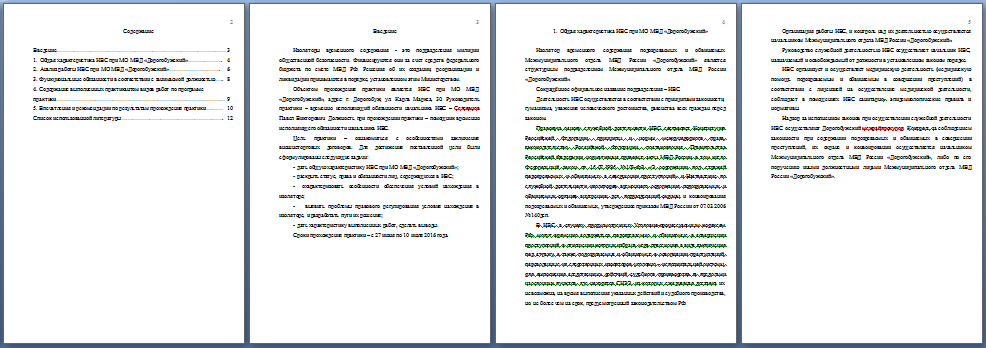 Отчет по практике в ивс 534